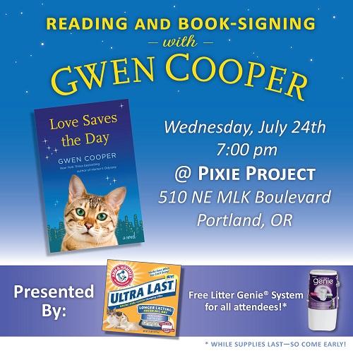 Book Tour Flyer